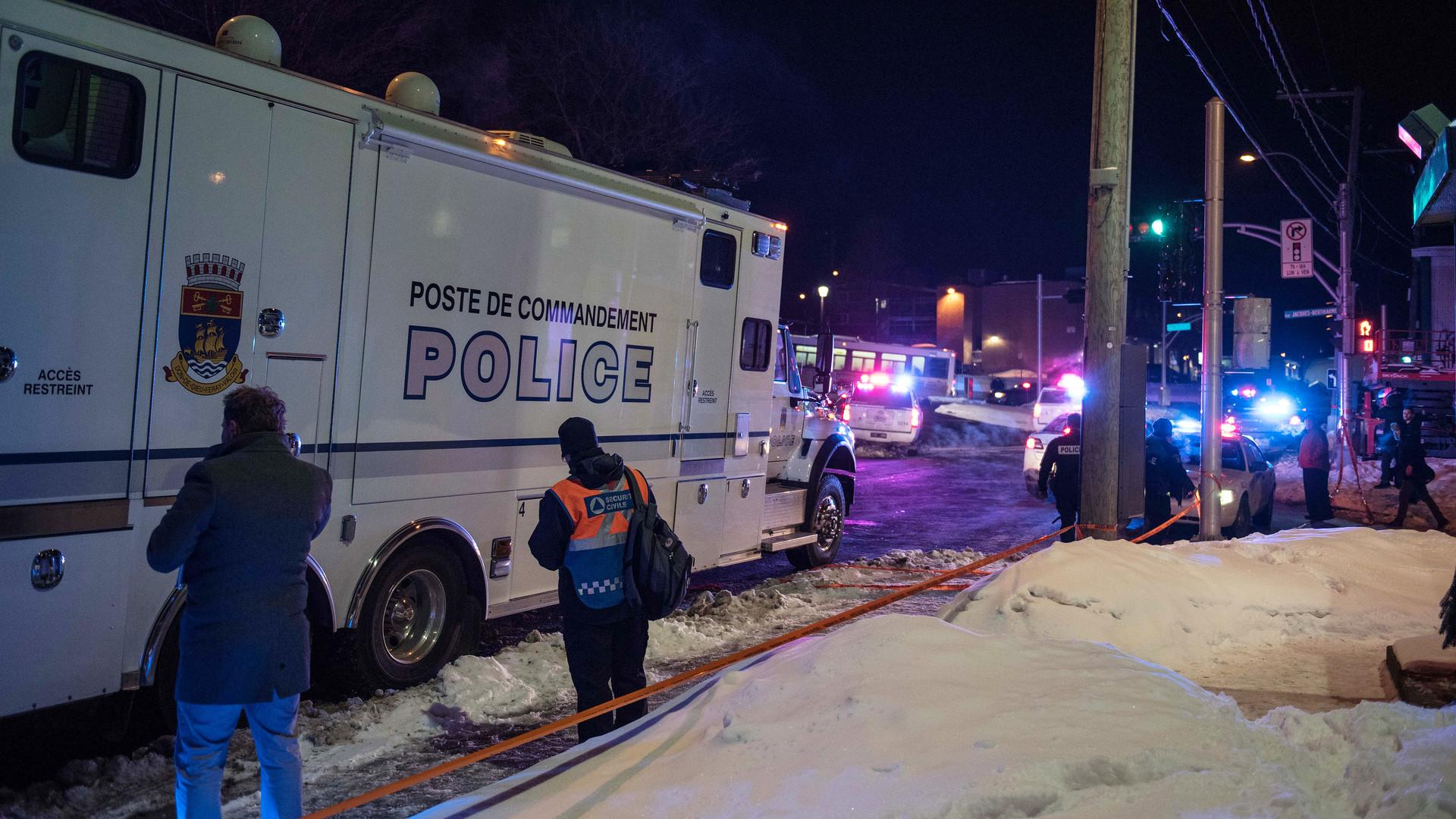 Вканадской провинции Квебек неизвестные устроили стрельбу вмечети