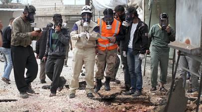 Едкий след: сирийская армия обнаружила в Алеппо химикаты из Саудовской Аравии