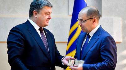 На смену Саакашвили: что связывает нового одесского губернатора с Коломойским