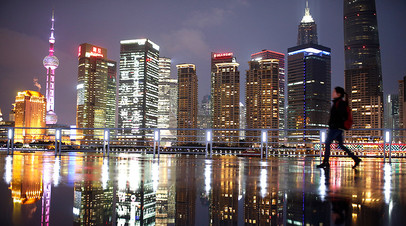 Район Пудун в Шанхае