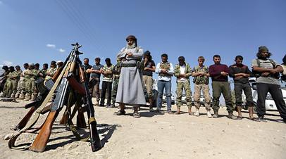 Первые совместные действия: армия Сирии и оппозиция отразили наступление террористов ИГ