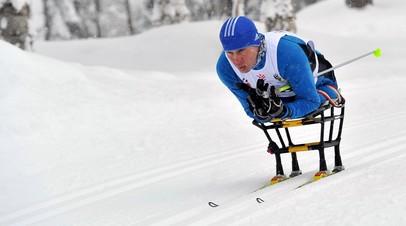 Спортсмен-паралимпиец Рамиль Илалутдинов