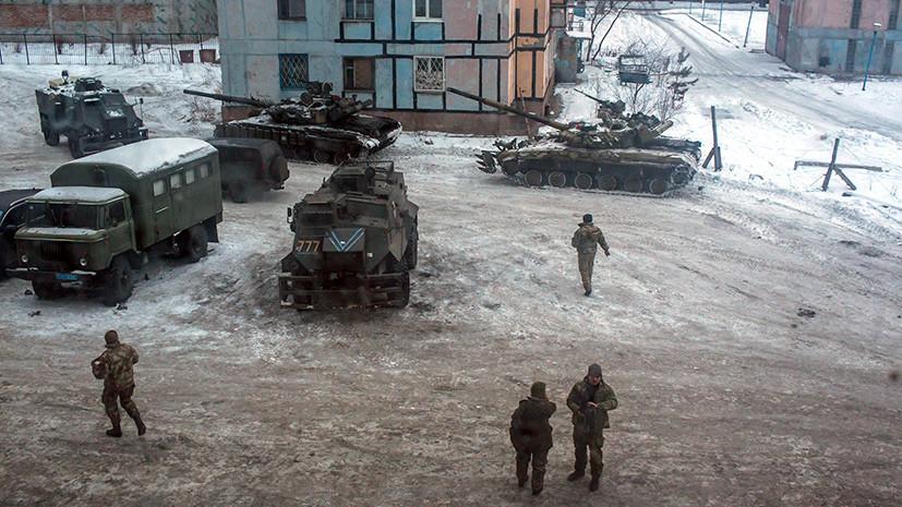 Обстрел Донбасса: Киев отрицает, что танки ВСУ участвуют в боевых действиях