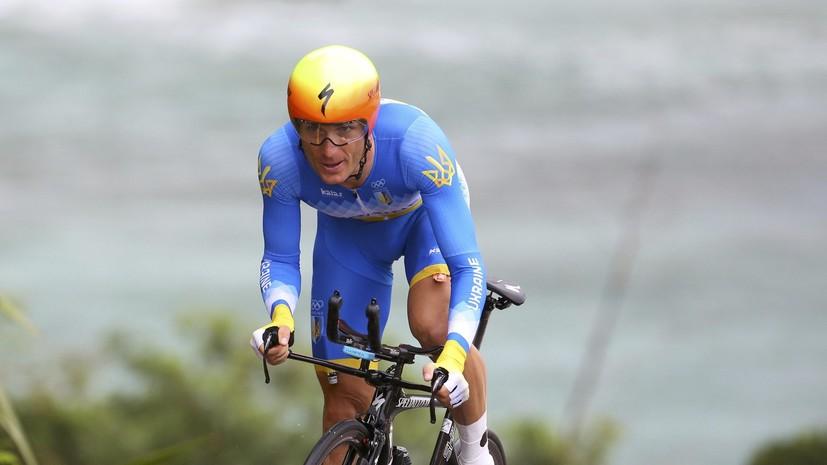 «Его нужно дисквалифицировать»: украинский велогонщик ударил соперника по лицу