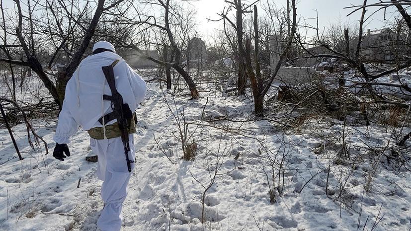 Украинские силовики заявили об исчезновении группы военных в Луганской области