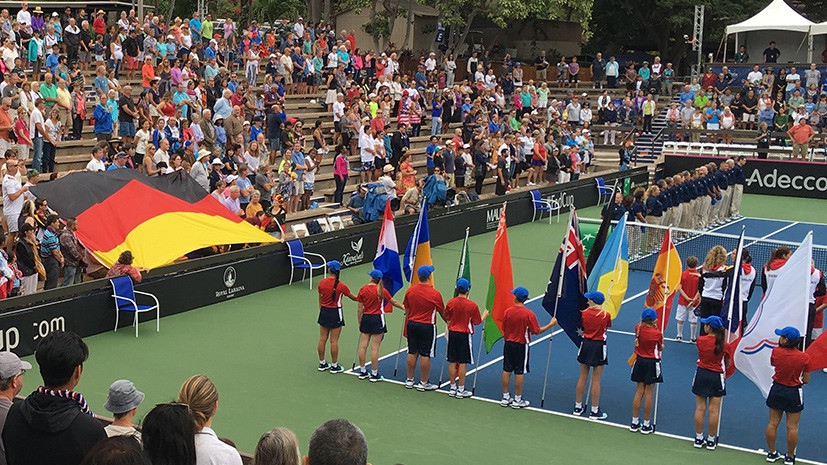 Гимн раздора: на теннисном матче в США исполнили «Песнь немцев» времён Третьего рейха