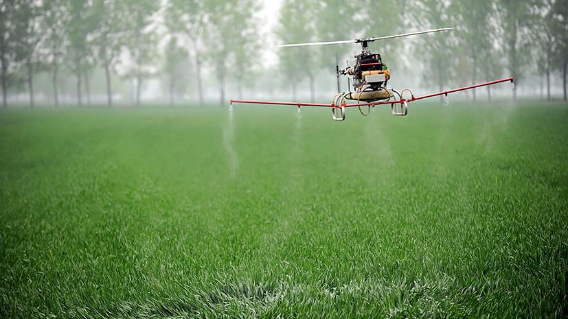 Беспилотный кукурузник: правительству предлагают использовать дроны в сельском хозяйстве