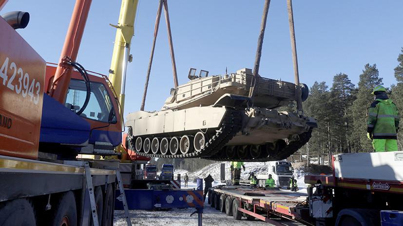 Испанские танки в Латвии: НАТО перегруппировывает силы для защиты от России