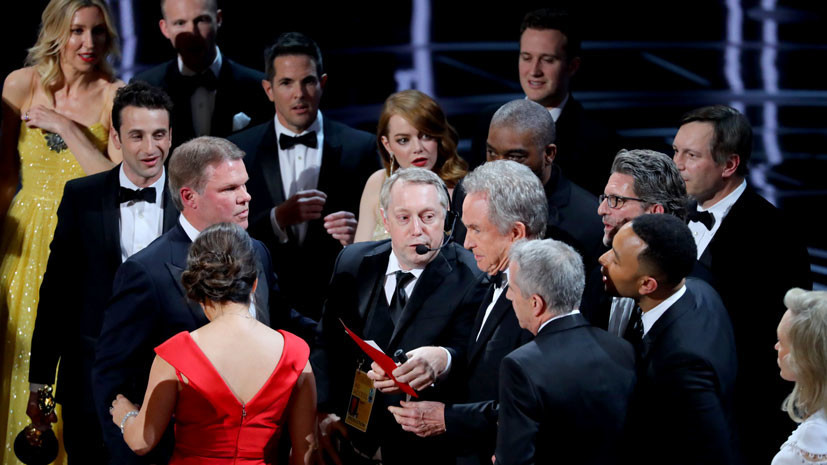 Ошиблись с «Ла-Ла Лендом», пошутили над Трампом: как прошёл «Оскар»