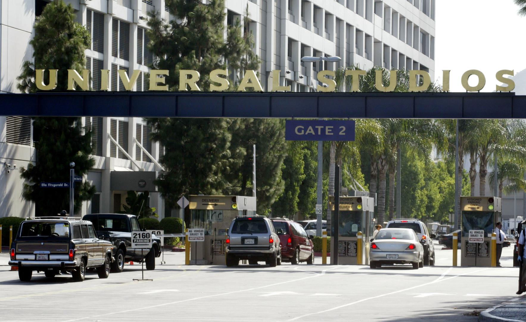 Вход в Universal Studios, Калифорния