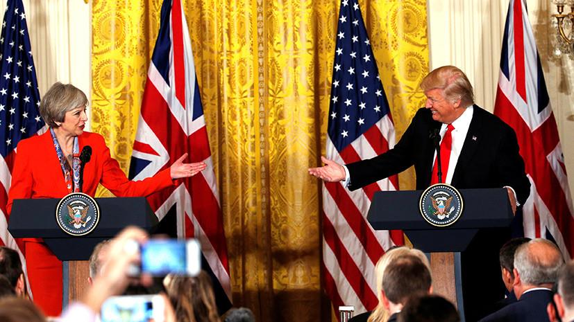 Пускать ли президента: англичане просят и разрешить, и запретить визит Трампа в Британию