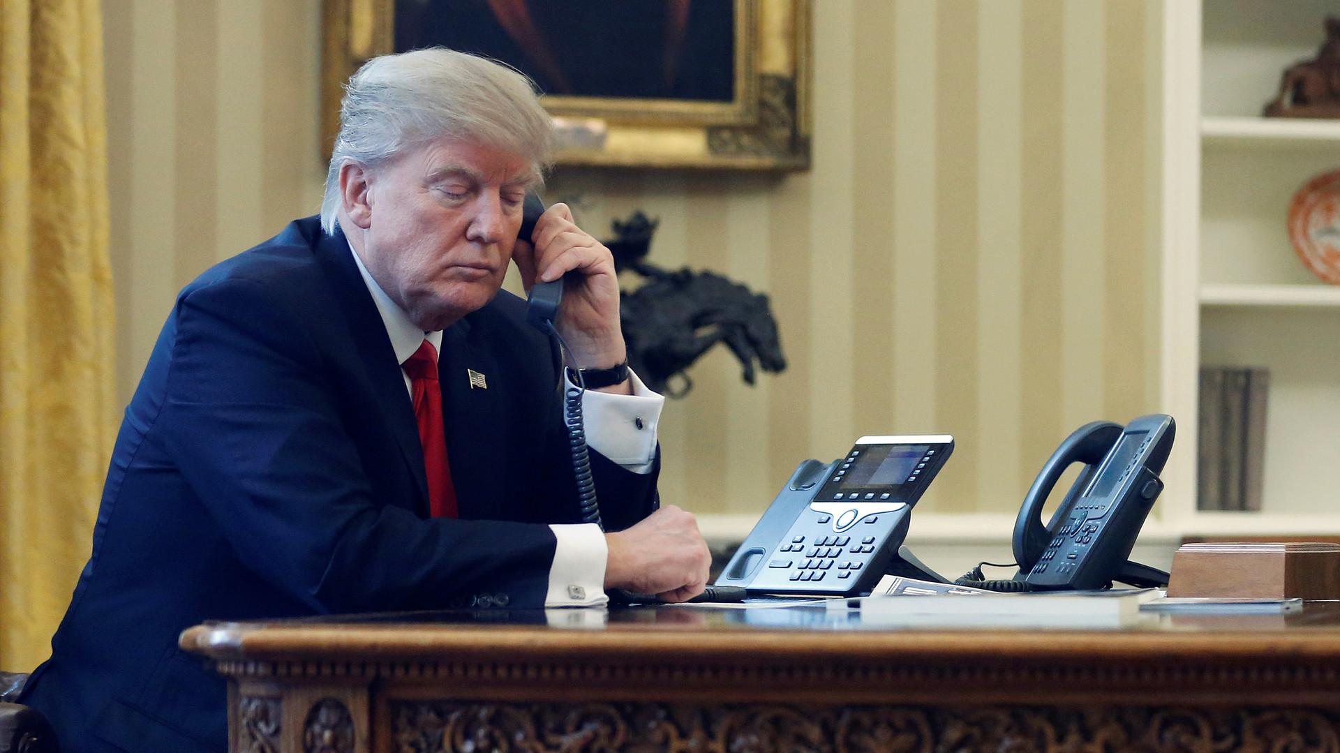 В три предложения: Трамп обсудил с Порошенко обострение ситуации в Донбассе