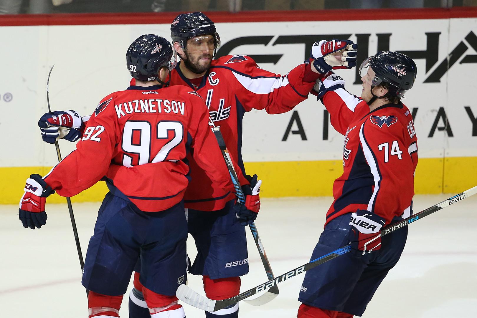 Из всех орудий: россияне забросили восемь шайб за ночь в НХЛ