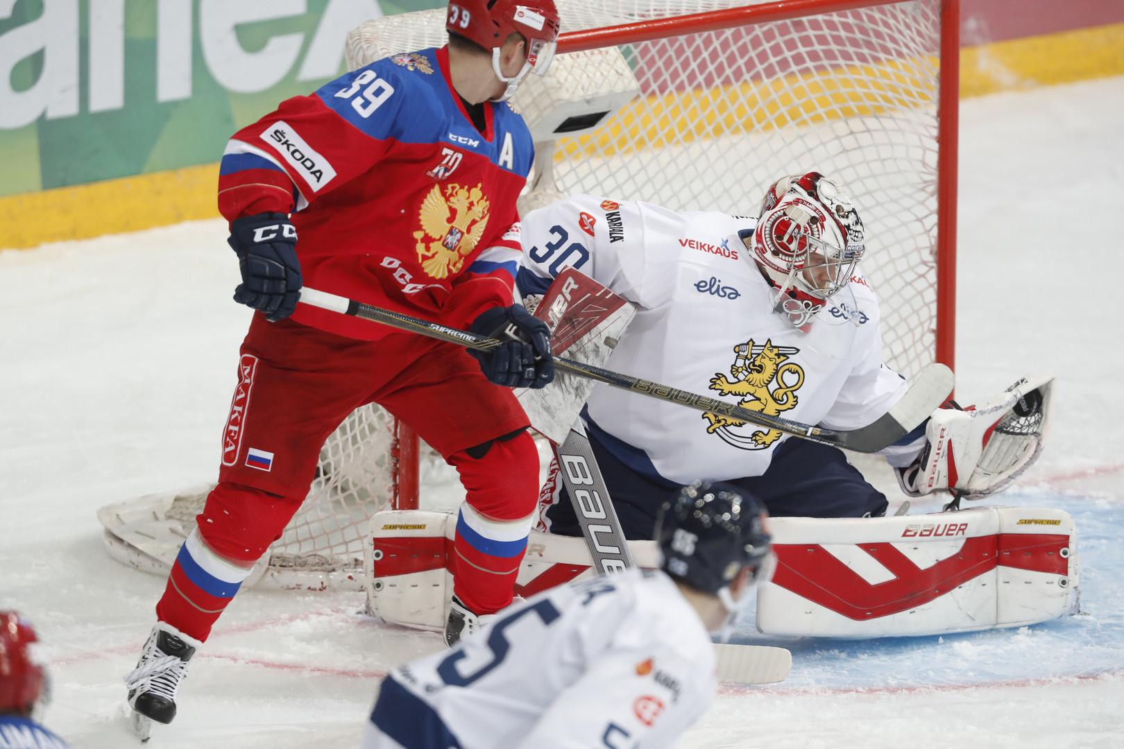 Победа на флажке: Россия в концовке выиграла у Финляндии в рамках Еврохоккейтура