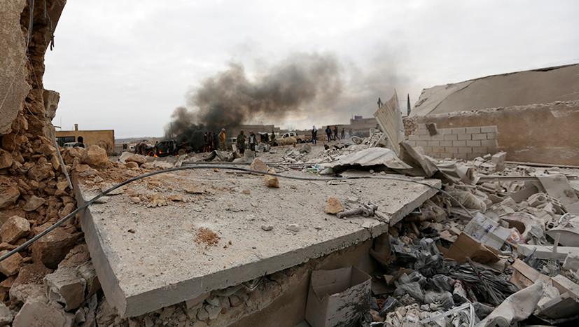 ВКСРФ нанесли удар потурецким военным вСирии
