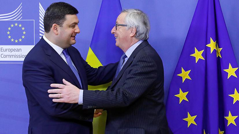 Миру-news.ru: Брюсс всемогущий: ЕC вновь обещает Украине финансовую помощь и безвизовый режим - Насколько реалистичны эти планы ЕС и готов ли сам Киев стать ближе к Брюсселю.