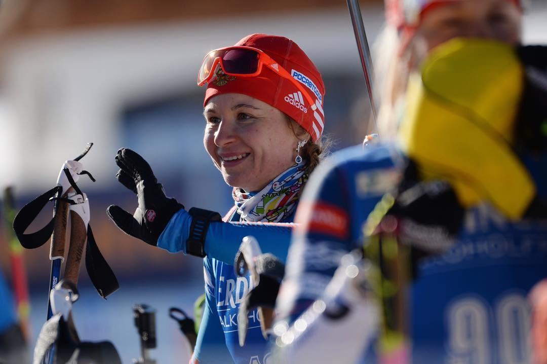Замена Макларена сыграла: Услугина стала лучшей из россиянок в спринте на ЧМ по биатлону