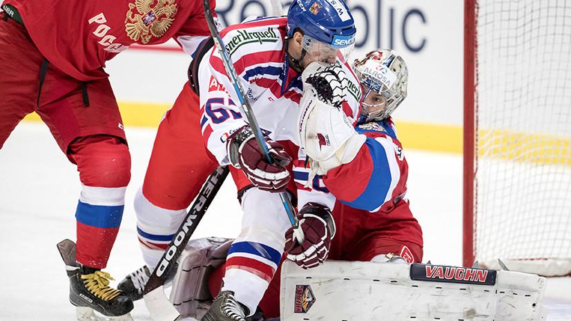 Досрочная победа: Россия обыграла Чехию и за этап до конца стала победителем Евротура