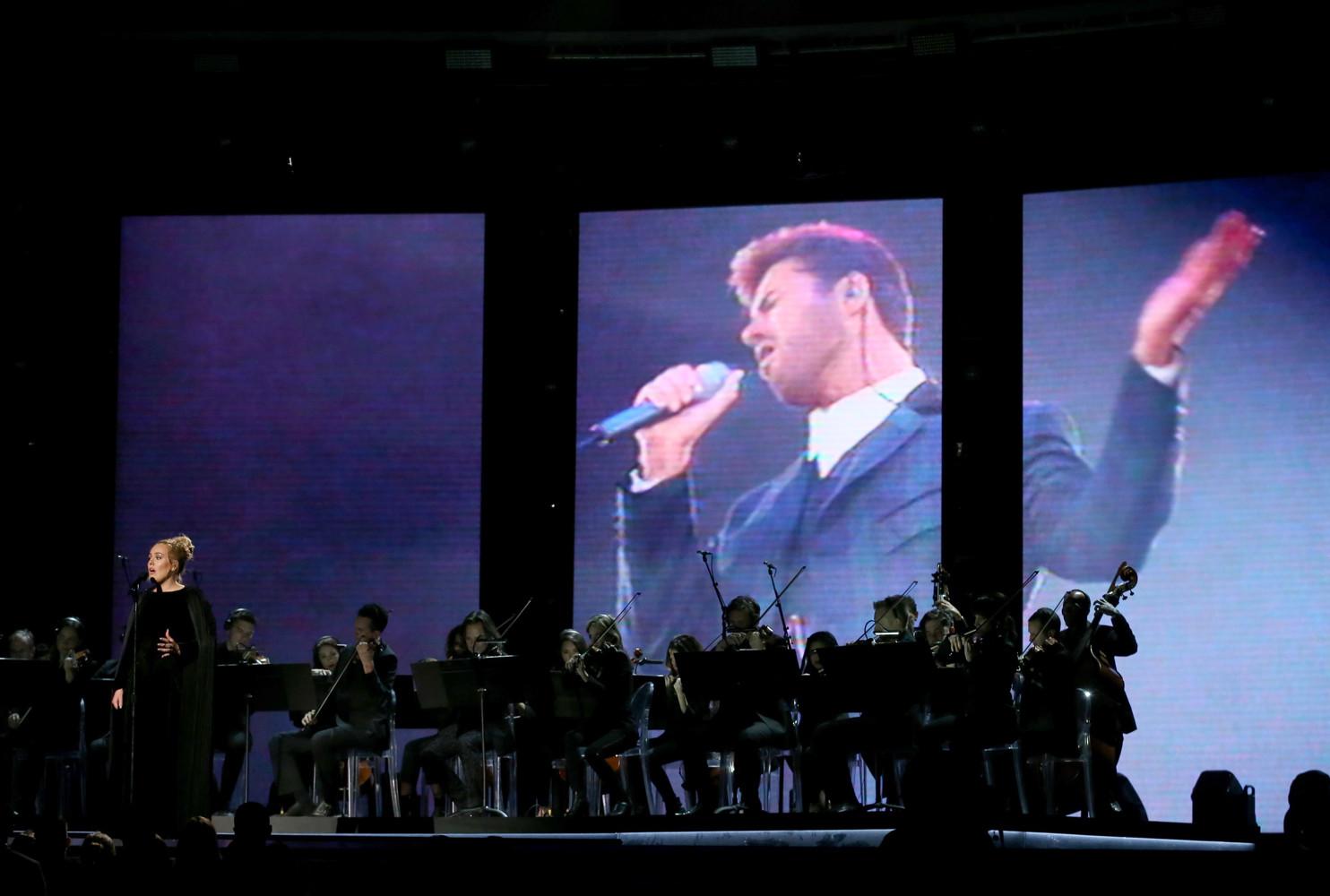 Адель исполнила на  церемонии песню All I Ask в память о Джордже Майкле.