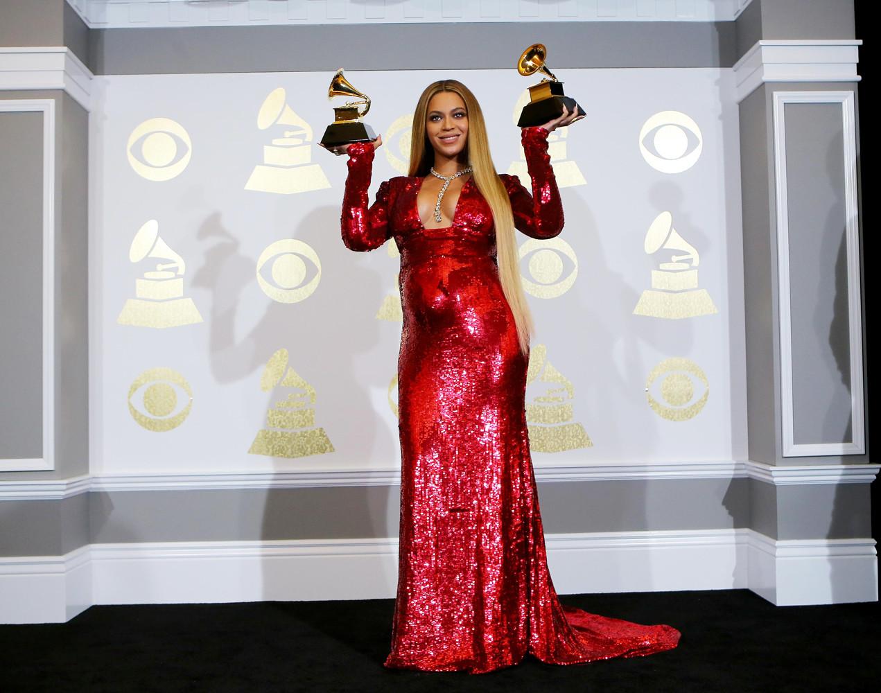 Бейонсе завоевала абсолютное число наград.
