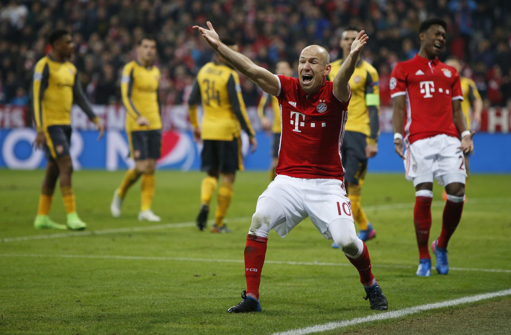 Опять двойка: «Арсенал» снова проиграл на выезде «Баварии» со счётом 1:5 в Лиге чемпионов
