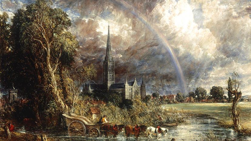 Тайна невероятной радуги: записи о погоде помогли раскрыть секрет картины XIX века