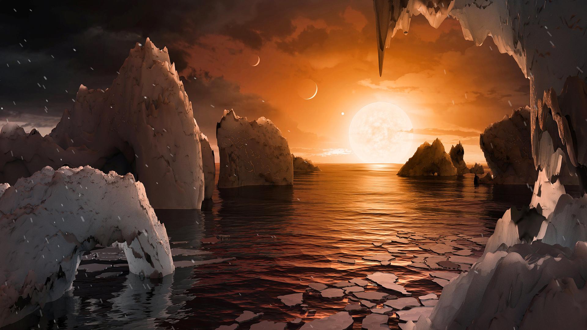 NASA выпустила виртуальный обзор найденной планеты всистеме TRAPPIST-1