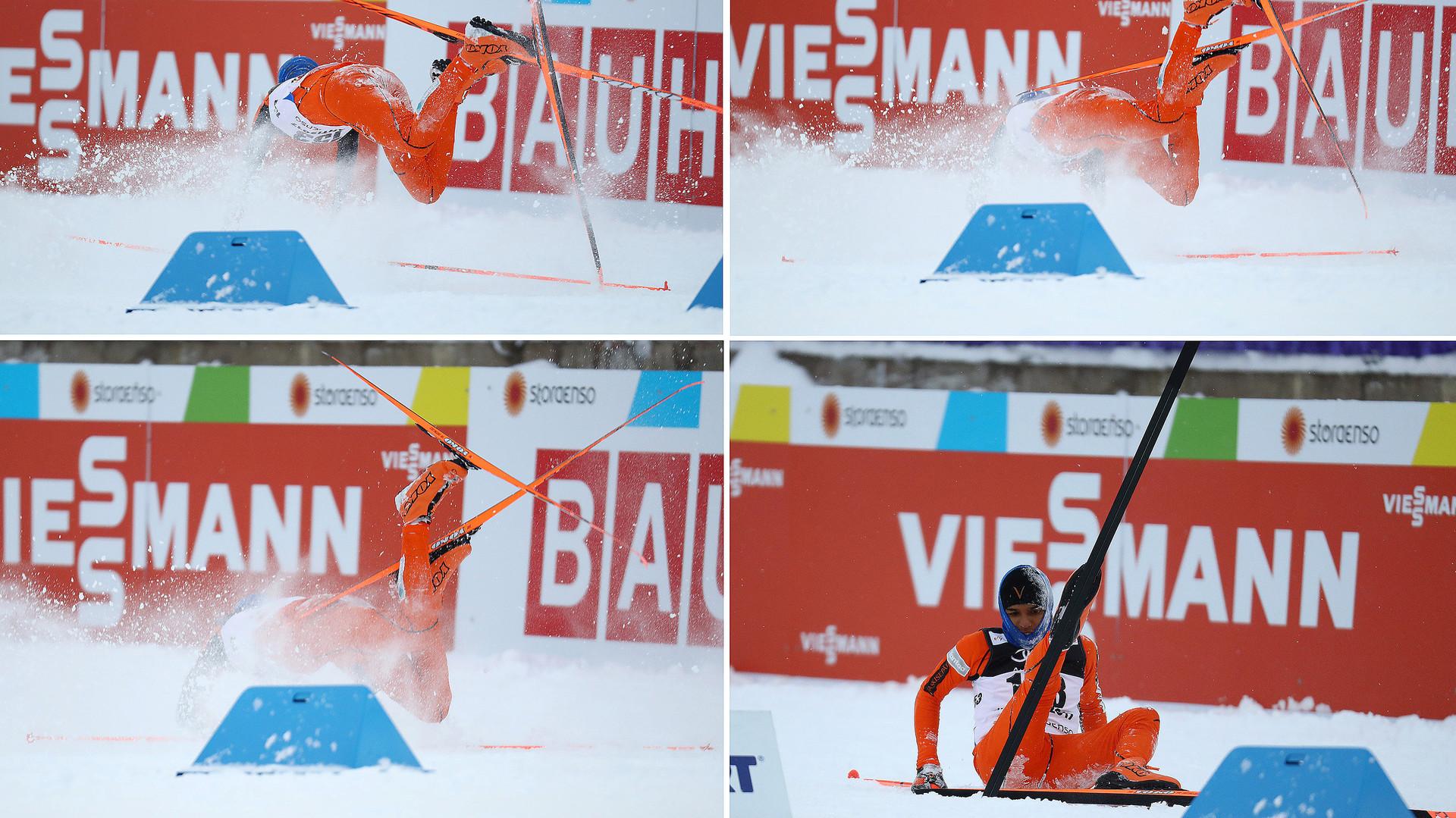 Выступление венесуэльского лыжника на ЧМ произвело фурор