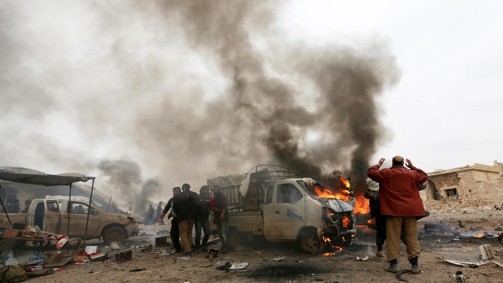 Число погибших при взрыве в пригороде сирийского Эль-Баба возросло до 41