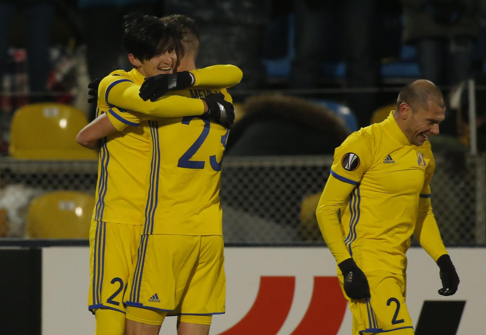 Определены соперники «Краснодара» и«Ростова» в1/8 финала Лиги Европы