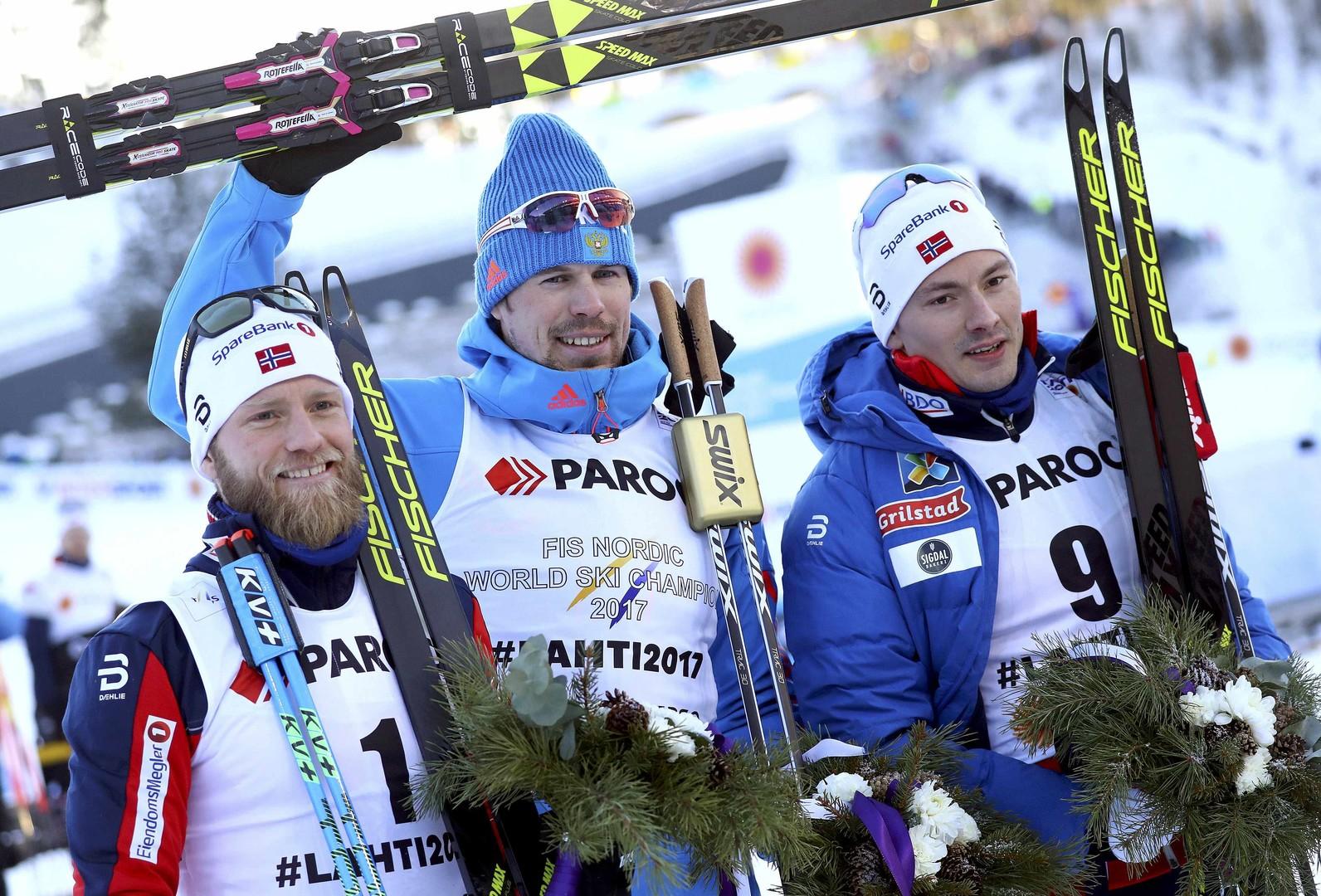 Устюгов всемогущий: российский лыжник стал чемпионом мира в скиатлоне