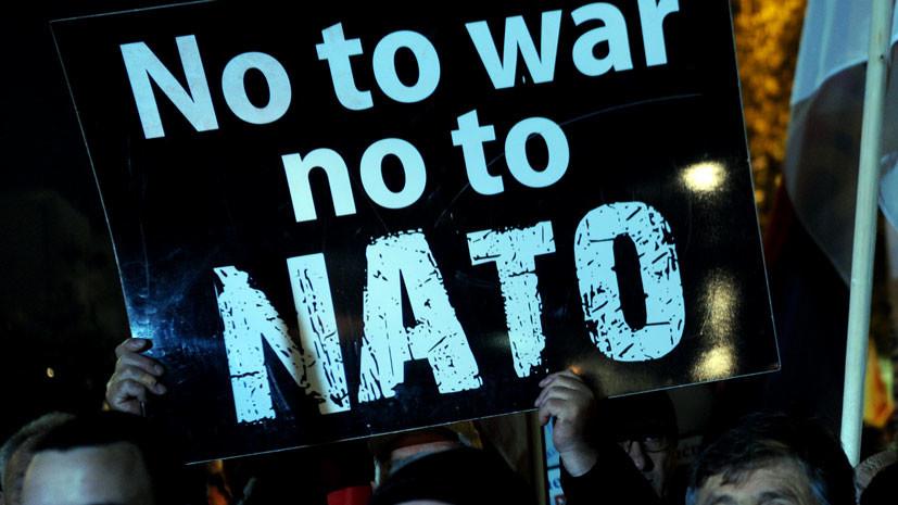 в Бельгии пройдут массовые протесты во время саммита НАТО