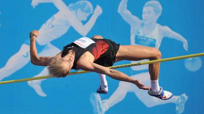 Олимпийский чемпион по прыжкам в высоту Андрей Сильнов
