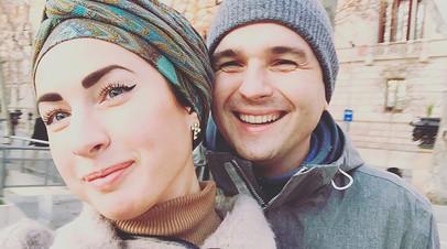 Станислава Лисов с женой Дарьей