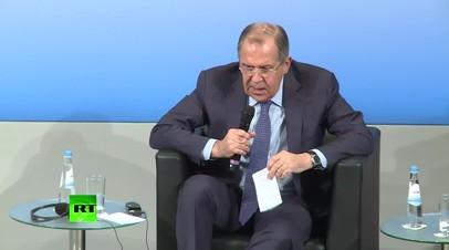 Лавров: мы свои санкции с ЕС не снимем, пока минские договорённости не будут выполнены