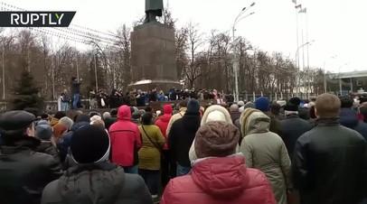 В Белоруссии проходят протесты против «налога на тунеядство»