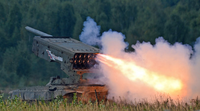 Тяжёлая огнеметная система ТОС-1 «Буратино»