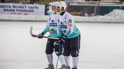 Кадр из матча между «Водником» и «Байкалом-Энергией»