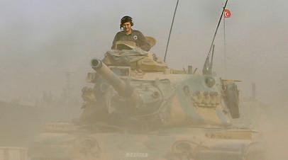 Турецкие войска на территории Сирии