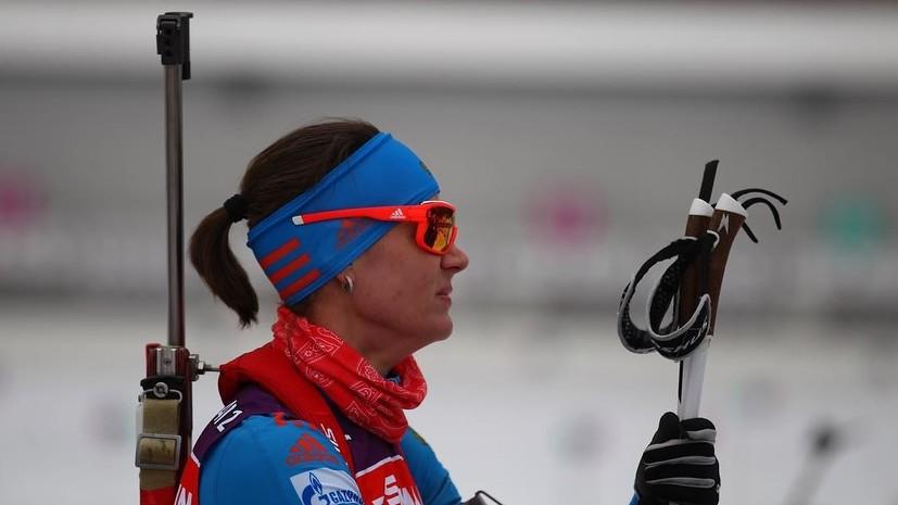 Первый снег комом: россиянки провалили женский спринт на этапе КМ по биатлону в Пхёнчхане