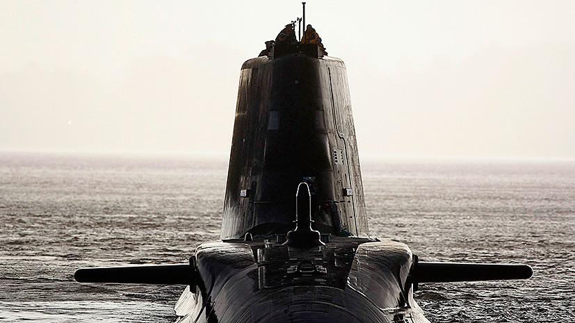 Великобритания переместит подводные лодки на базу в Шотландии