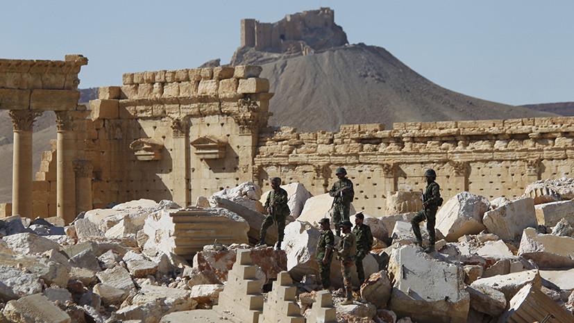 Сирийская армия при поддержке ВКС РФ взяла Пальмиру