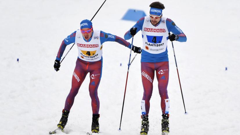 Серебро спустя 10 лет: мужская сборная России стала второй в эстафете на ЧМ по лыжам