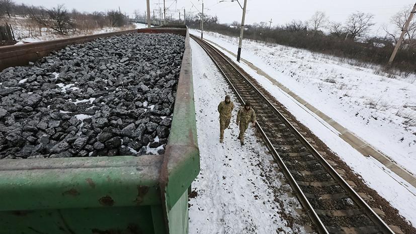 Украинские радикалы усилили торговую блокаду ДНР и ЛНР