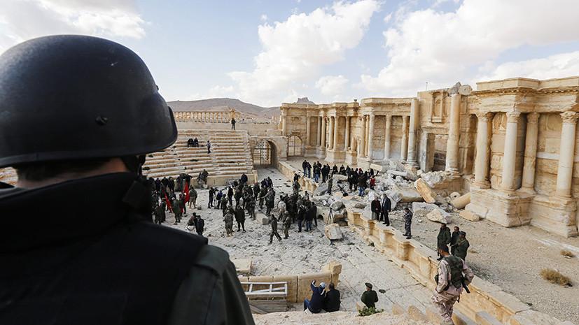Губернатор провинции Хомс о восстановлении Пальмиры