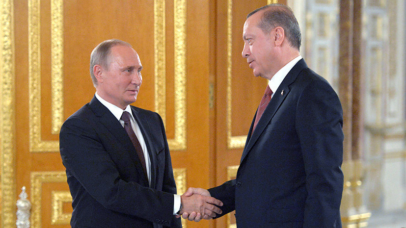 Встречный курс: о чём будут говорить в Москве Путин и Эрдоган