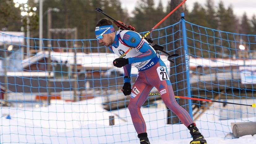 Стойка преткновения: Шипулин стал 10-м в гонке преследования на этапе КМ по биатлону