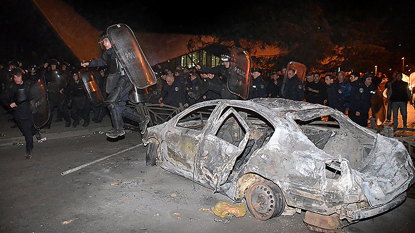 Что стоит за массовыми беспорядками в Батуми