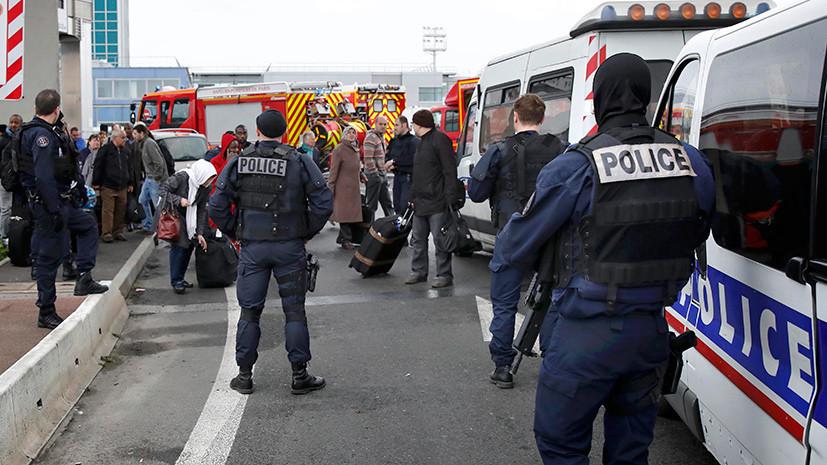 Как теракт в Орли оценили во Франции