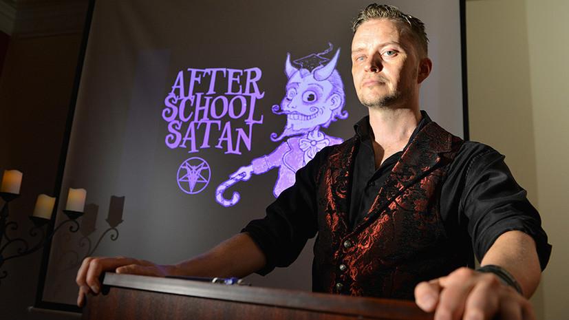 В США сатанисты организуют в школах клубы для детей